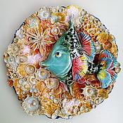 "Декоративное панно ""Рыбка"", фарфор. Светлана (X-Porcelain)"
