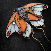 """Гребень """"Papillon de Promethee"""". Grimoire La poule noire"""