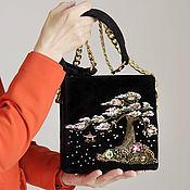 "Вышитая сумочка ""Цветение сакуры"". Айшат Алимурзаева (aishat-beads)"