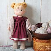 Вальдорфская кукла Татошка. Студия текстильной куклы  ТаТа
