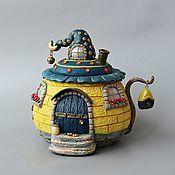 """Сахарница """"Sweet home"""" с декором из полимерной глины. Милые чудесенки от Анны Кудесницы"""