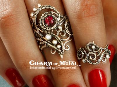 Ручная работа . Charm of Metal. Handmade.