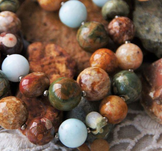 Ручная работа . Украшения из натуральных камней. Handmade.