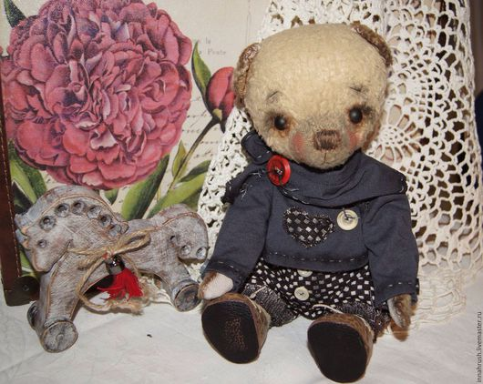 Мишки Тедди ручной работы. Ярмарка Мастеров - ручная работа. Купить Мишка тедди. Handmade. Мишка в одежке, опилки древесные