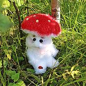 Куклы и игрушки handmade. Livemaster - original item The muhomorchikom. Handmade.