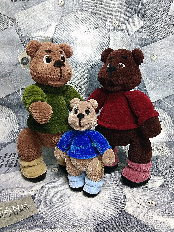 """МК по вязанию крючком """"Медведь Потапыч"""", Мягкие игрушки, Агинское,  Фото №1"""