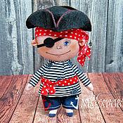 Куклы и игрушки handmade. Livemaster - original item Textile doll Pirate. Handmade.