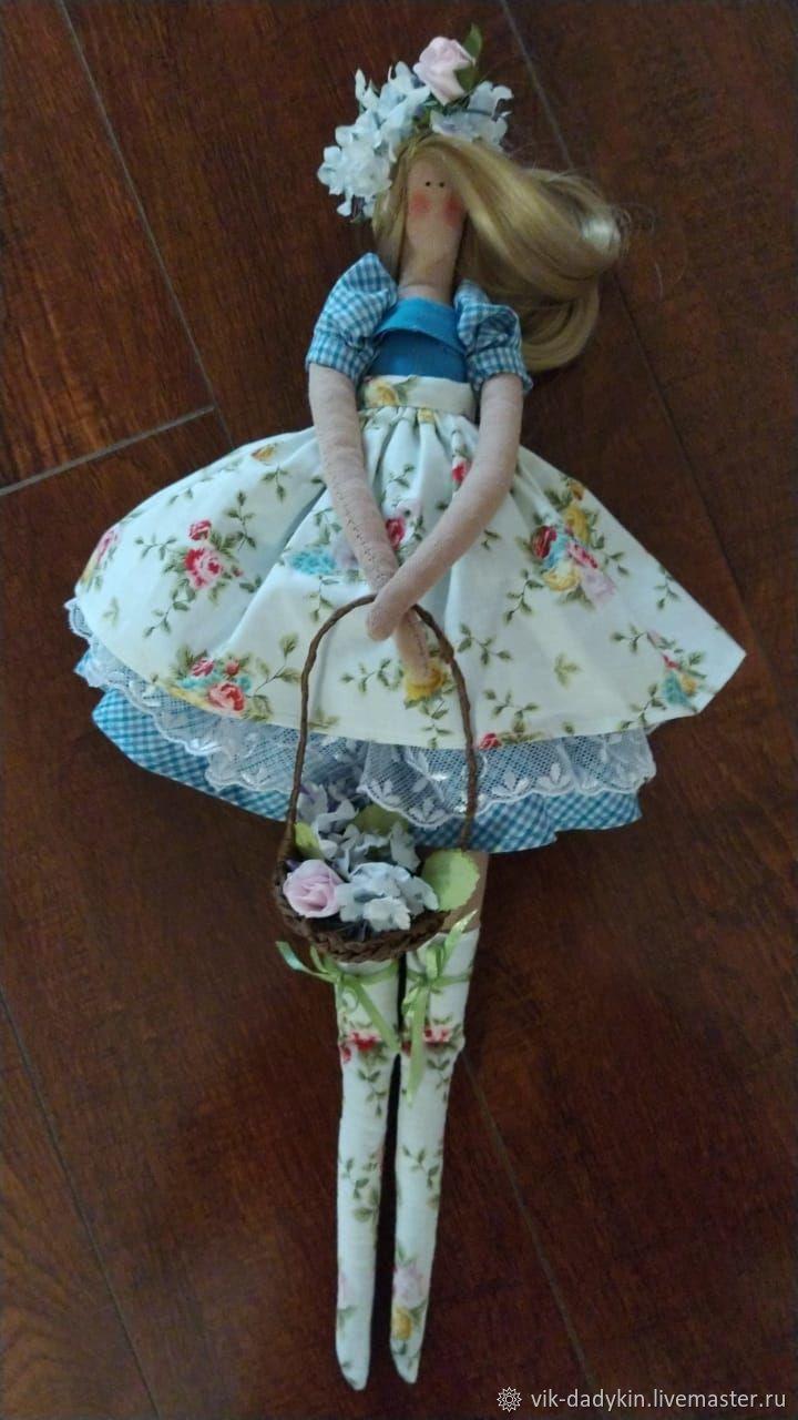 """Текстильная кукла в стиле  """"тильда"""": Весна, Куклы Тильда, Москва,  Фото №1"""