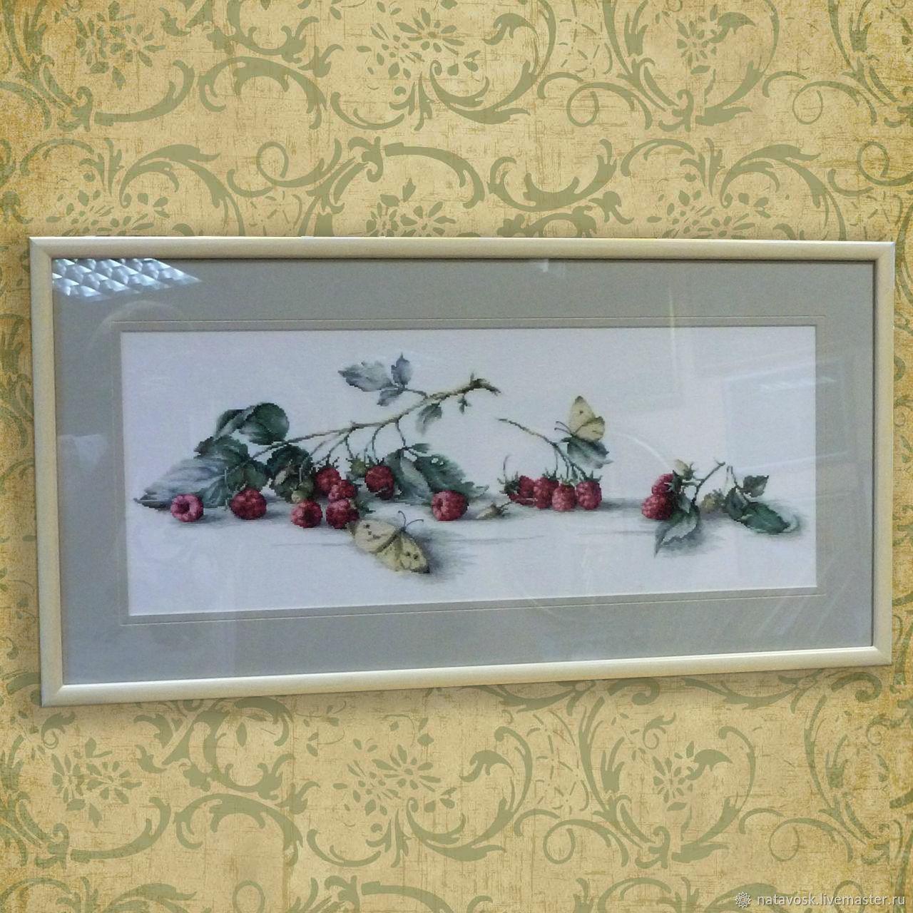 Cross stitch Raspberries and Strawberries, Panels, Rostov-on-Don,  Фото №1