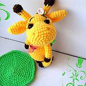 Куклы и игрушки ручной работы. Ярмарка Мастеров - ручная работа Малышка Жирафа. Handmade.