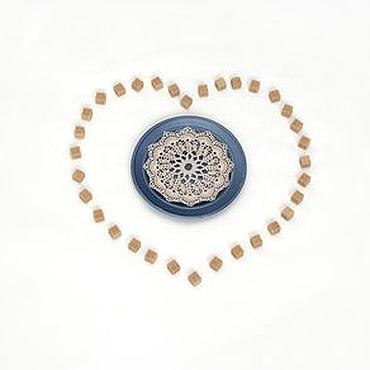 Для дома и интерьера ручной работы. Ярмарка Мастеров - ручная работа Маленькая ажурная салфетка. Handmade.