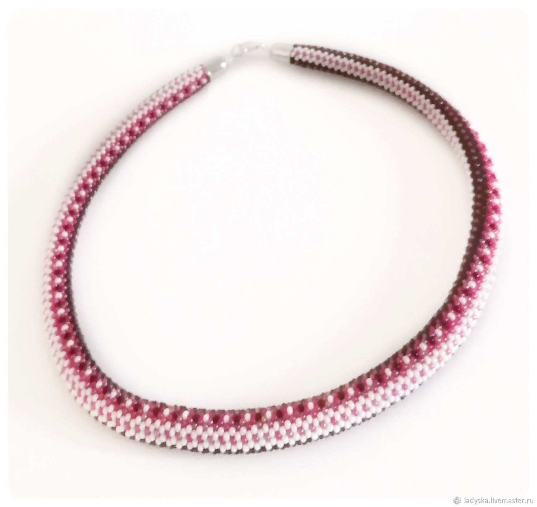 Necklace-harness ' SCARLET SNAKE', Necklace, Smolensk,  Фото №1