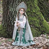 """Мягкие игрушки ручной работы. Ярмарка Мастеров - ручная работа Авторская кукла """"Хозяйка Медной горы"""". Handmade."""