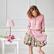 Одежда ручной работы. Ярмарка Мастеров - ручная работа Комплект юбка+рубашка. Handmade.