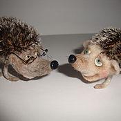 Куклы и игрушки ручной работы. Ярмарка Мастеров - ручная работа Ежики Носишки. Handmade.