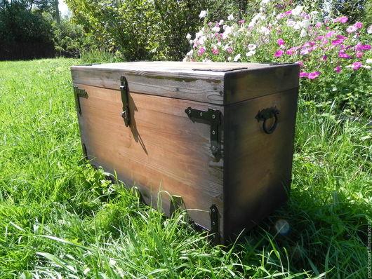 Мебель ручной работы. Ярмарка Мастеров - ручная работа. Купить Сундук - скамейка. Handmade. Сундук, сундук деревянный, сундук для хранения