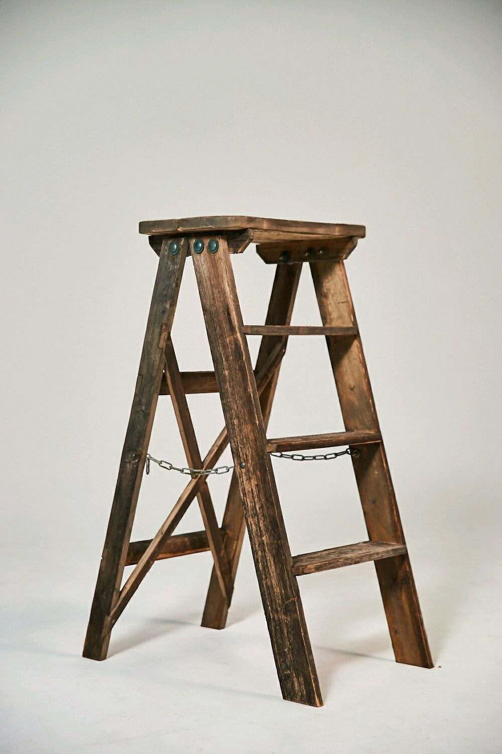 Staircase-stepladder in the style of Provence from a vintage Board, Stairs, Moscow,  Фото №1