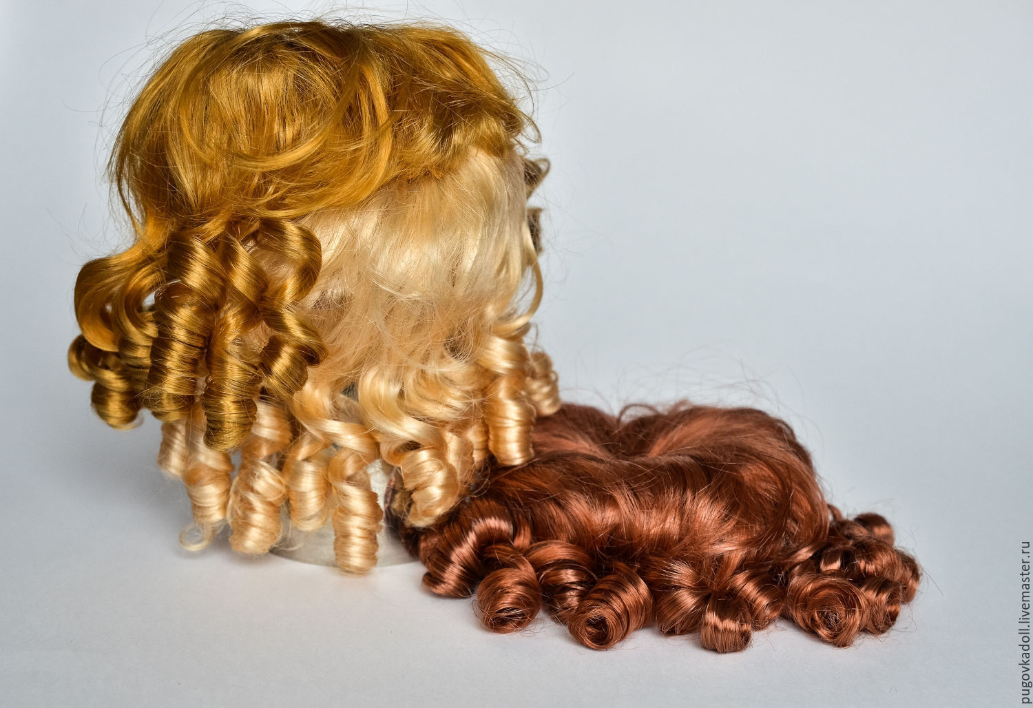 Doll: Wig Curls for dolls in stock, Dolls, Moscow,  Фото №1