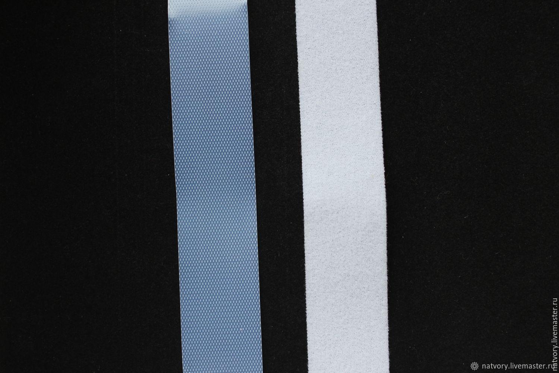 Материалы: Ультра тонкая липучка шириной 20 мм, Липучка, Санкт-Петербург,  Фото №1