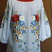 Одежда handmade. Livemaster - original item Women`s embroidery Autumn garden ZhR3-119. Handmade.