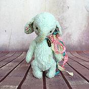 Куклы и игрушки ручной работы. Ярмарка Мастеров - ручная работа Слоник в технике тедди. Handmade.