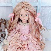 handmade. Livemaster - original item Christie. Textile collectible dolls. Handmade.