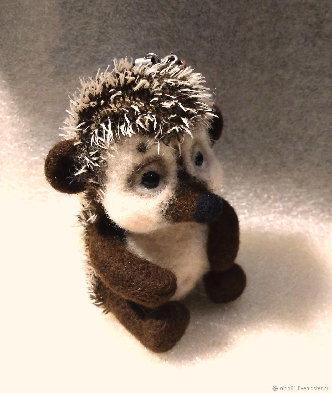Ёжик Малышок, валяная игрушка, Войлочная игрушка, Санкт-Петербург,  Фото №1