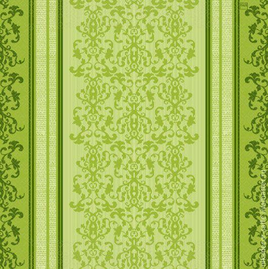 Декупаж и роспись ручной работы. Ярмарка Мастеров - ручная работа. Купить Зеленое кружево Барокко (211011) 33х33 салфетка для декупажа. Handmade.