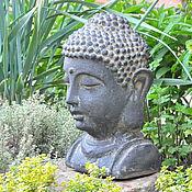 Дача и сад handmade. Livemaster - original item The statue garden is a bust of Buddha for landscape design, garden decor. Handmade.