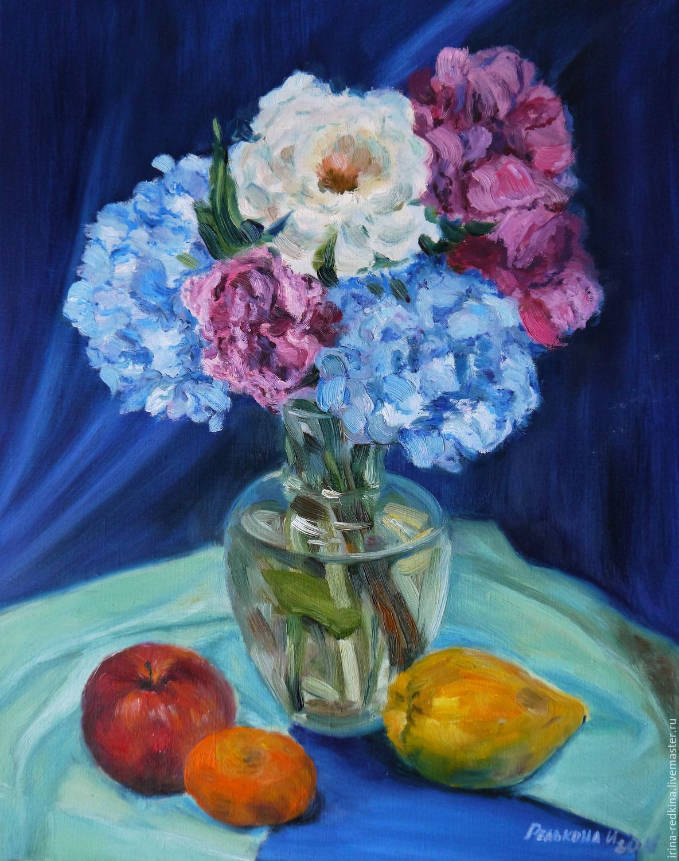 Постер Де Шантерейн. Натюрморт с летними цветами 38