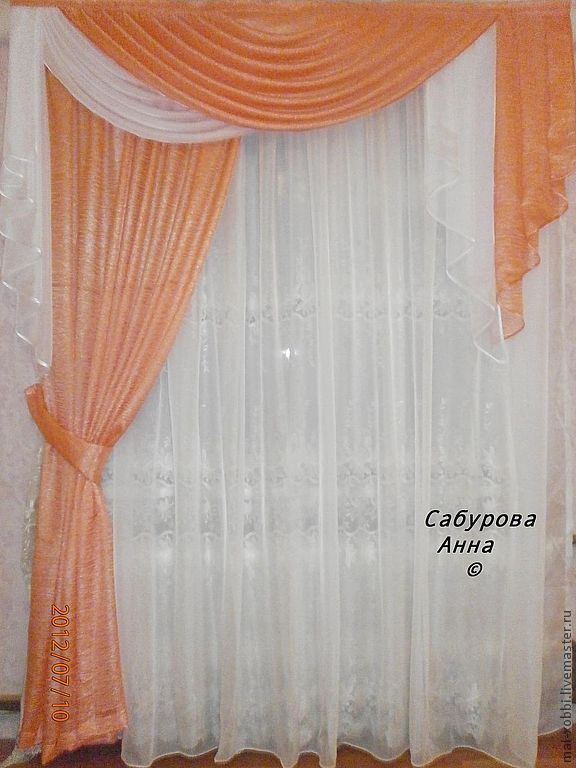 шторы в спальню пошив на заказ купить в интернет магазине на