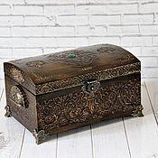 handmade. Livemaster - original item Treasure Chest