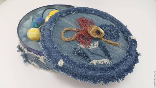 Подарочные наборы ручной работы. Ярмарка Мастеров - ручная работа. Купить шкатулка. Handmade. Тёмно-синий, шкатулка ручной работы