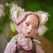 Куклы и игрушки handmade. Livemaster - original item Fox Lizaveta Teddy-$. Handmade.