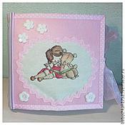Куклы и игрушки ручной работы. Ярмарка Мастеров - ручная работа Развивающая книга для ребенка. Handmade.