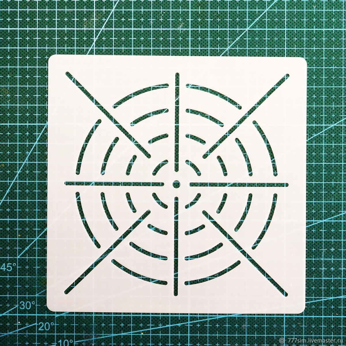 Трафарет для рисования мандал, Инструменты, Самара, Фото №1
