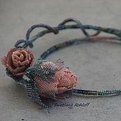 Украшения ручной работы. Ярмарка Мастеров - ручная работа Розы - мелодия души. Handmade.