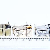 Материалы для творчества ручной работы. Ярмарка Мастеров - ручная работа Замок для сумки 1,5 на 3 см. Handmade.