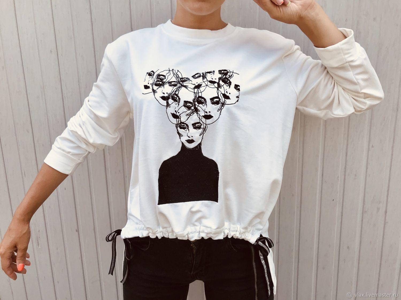 sweatshirt ' women in my head», Sweatshirts, Rostov-on-Don,  Фото №1