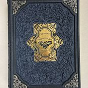 Сувениры и подарки handmade. Livemaster - original item The Golden encyclopedia of wisdom (gift book leather). Handmade.