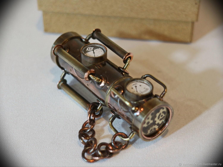 """Подарки для мужчин, ручной работы. Ярмарка Мастеров - ручная работа. Купить Стимпанк флешка """"Аппарат"""" 64 Gb USB 3.0+коробочка+мешочек. Handmade."""