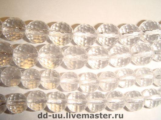 Для украшений ручной работы. Ярмарка Мастеров - ручная работа. Купить Горный хрусталь, бусина 6, 8, 10 мм. Handmade.