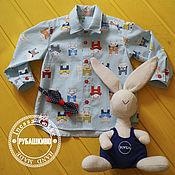 """Работы для детей, ручной работы. Ярмарка Мастеров - ручная работа Рубашка """"Братец Кролик"""". Handmade."""