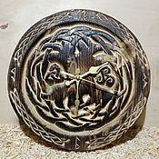 """Часы классические ручной работы. Ярмарка Мастеров - ручная работа Часы """"Иггдрасиль"""". Handmade."""