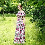 """Одежда ручной работы. Ярмарка Мастеров - ручная работа Платье """"Fascinò delle rose"""". Handmade."""