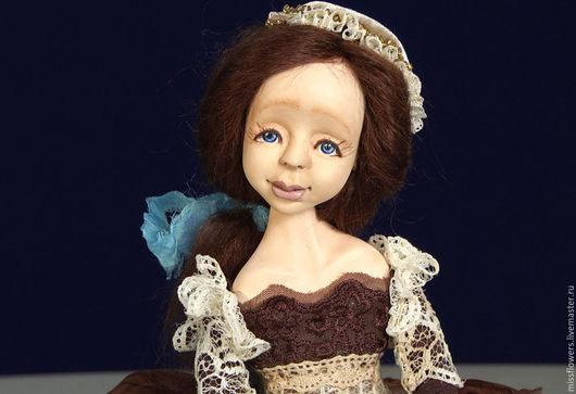 Коллекционные куклы ручной работы. Ярмарка Мастеров - ручная работа. Купить Будуарная кукла Мария (29 см). Handmade. Комбинированный