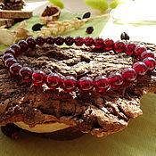 Украшения handmade. Livemaster - original item Star Garnet Bracelet. Handmade.
