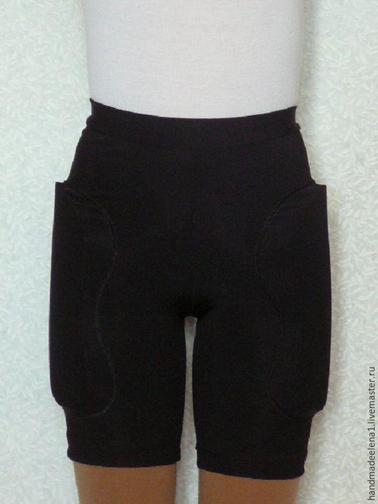 шорты защитные, фигурное катание, одежда для фигурного катания, одежда для тренировок