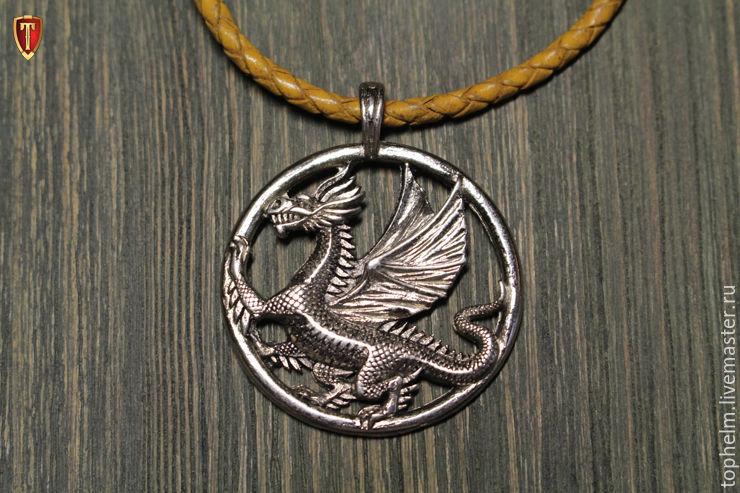 Кулоны, подвески ручной работы. Ярмарка Мастеров - ручная работа. Купить Кулон «Мифический Дракон». Handmade. Дракон, змей, дейенерис