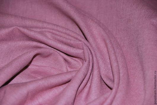 """Шитье ручной работы. Ярмарка Мастеров - ручная работа. Купить Лён-хлопок """"Румяна"""" мягкий. Handmade. Розовый, ткань для рукоделия"""